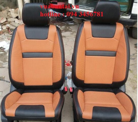Ghế da cao cấp cho xe ISUZU-Dmax