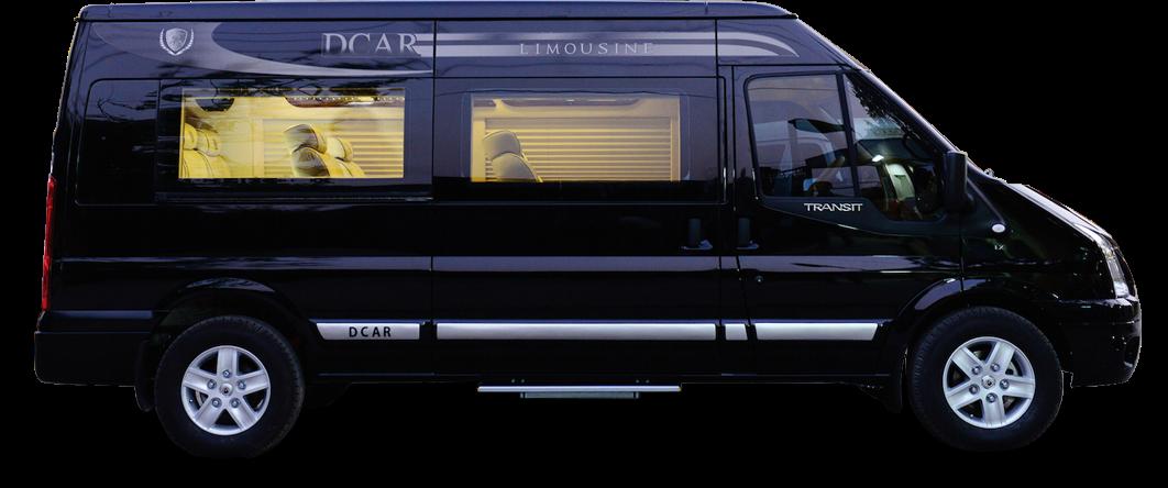 Ford Transit Dcar Limousine Standard (Bản tiêu chuẩn)